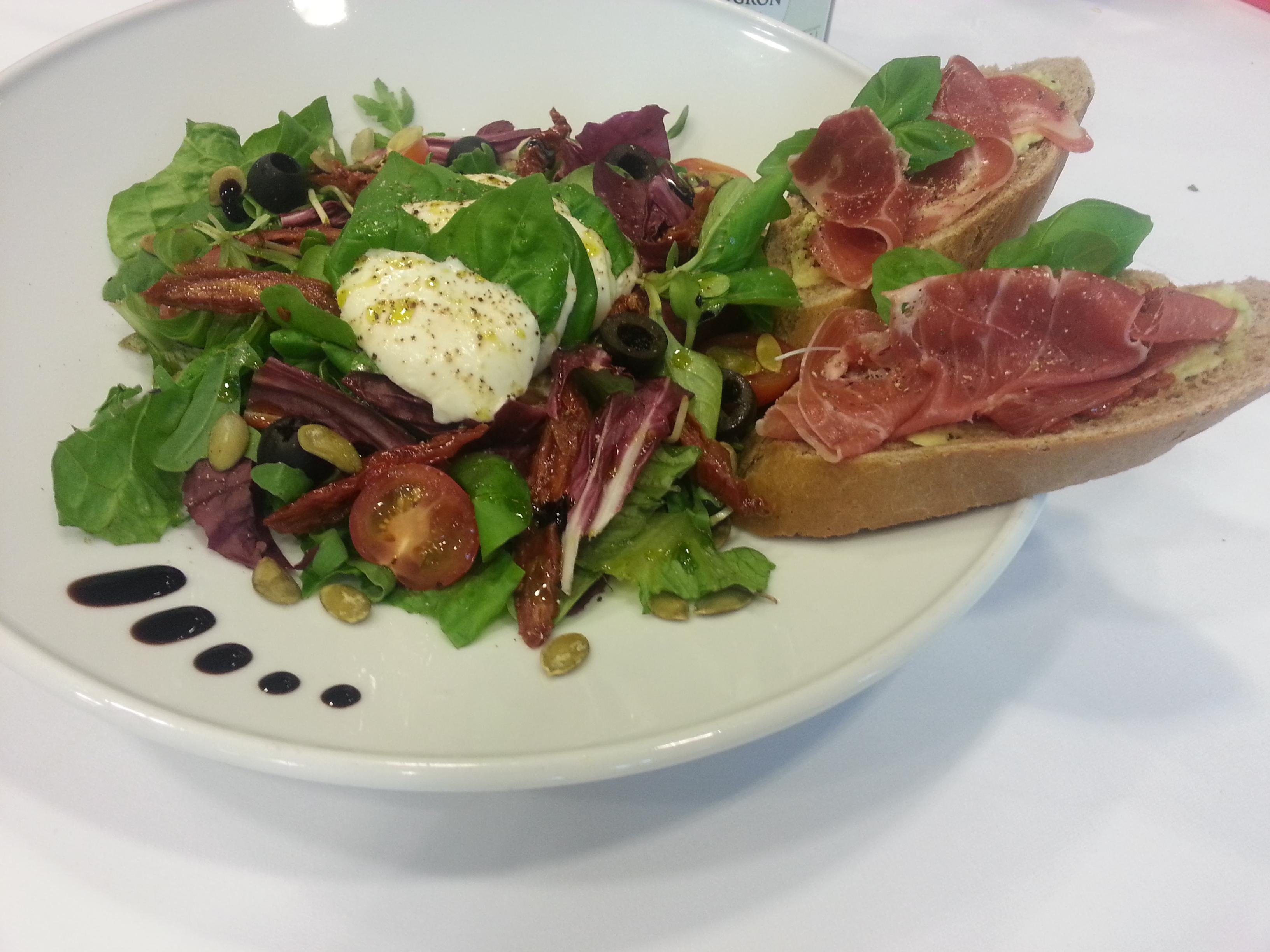 Sałatka włoskie smaki z Oleofarm