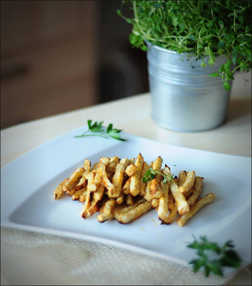 dietetyczne frytki z marchewki , fot. Karolina Sapkowska