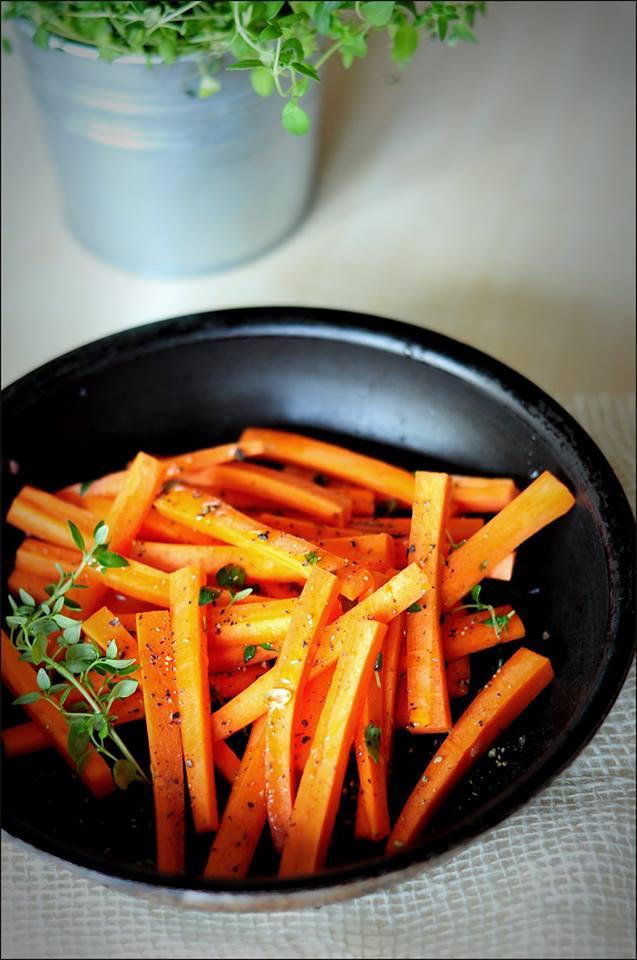 dietetyczne frytki z marchewki, Fot. Karolina Sapkowska