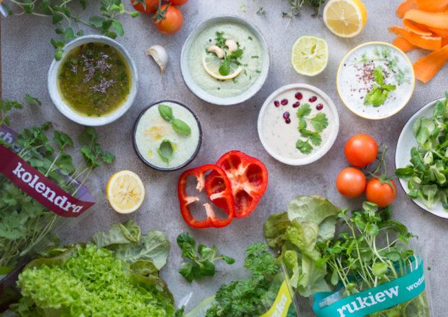 Sos do sałatki, czyli jak nie popsuć diety