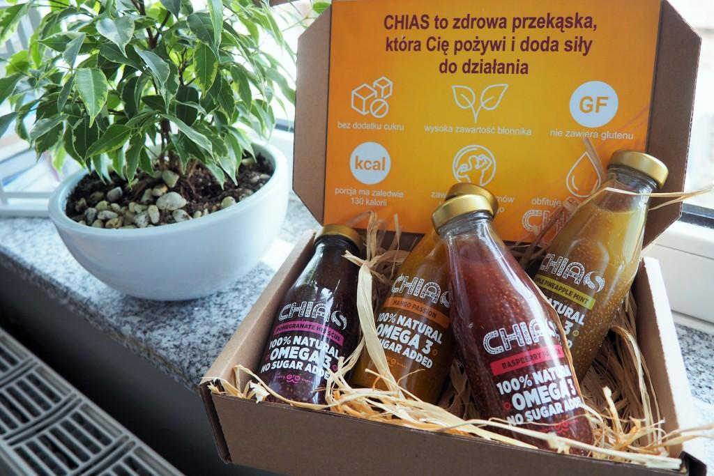 chias - soki owocowe z szałwią hiszpańską