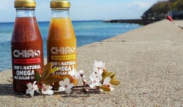 Chias, zdrowa przekąska z nasionami chia