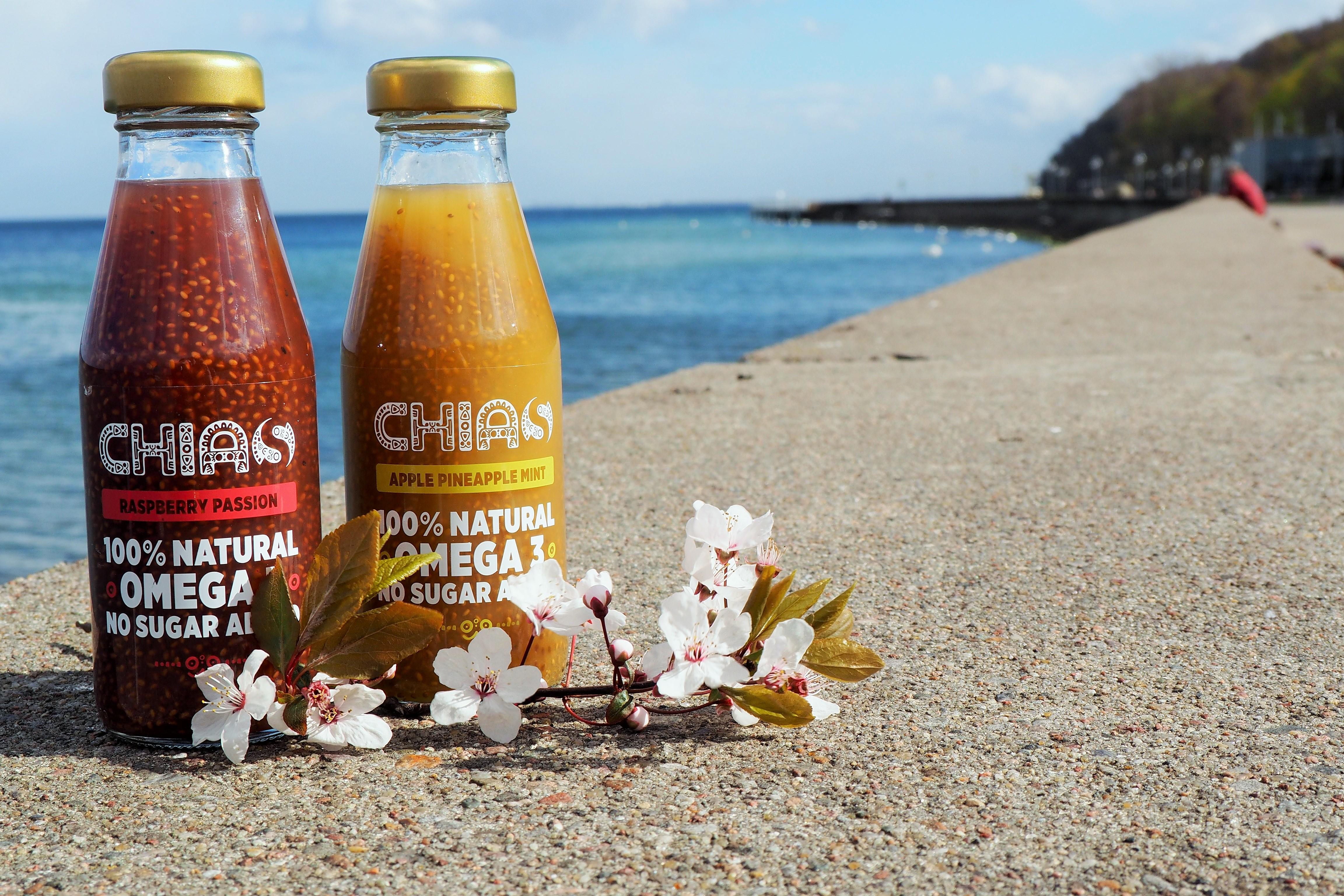 Chias – owocowa przekąska z nasionami chia