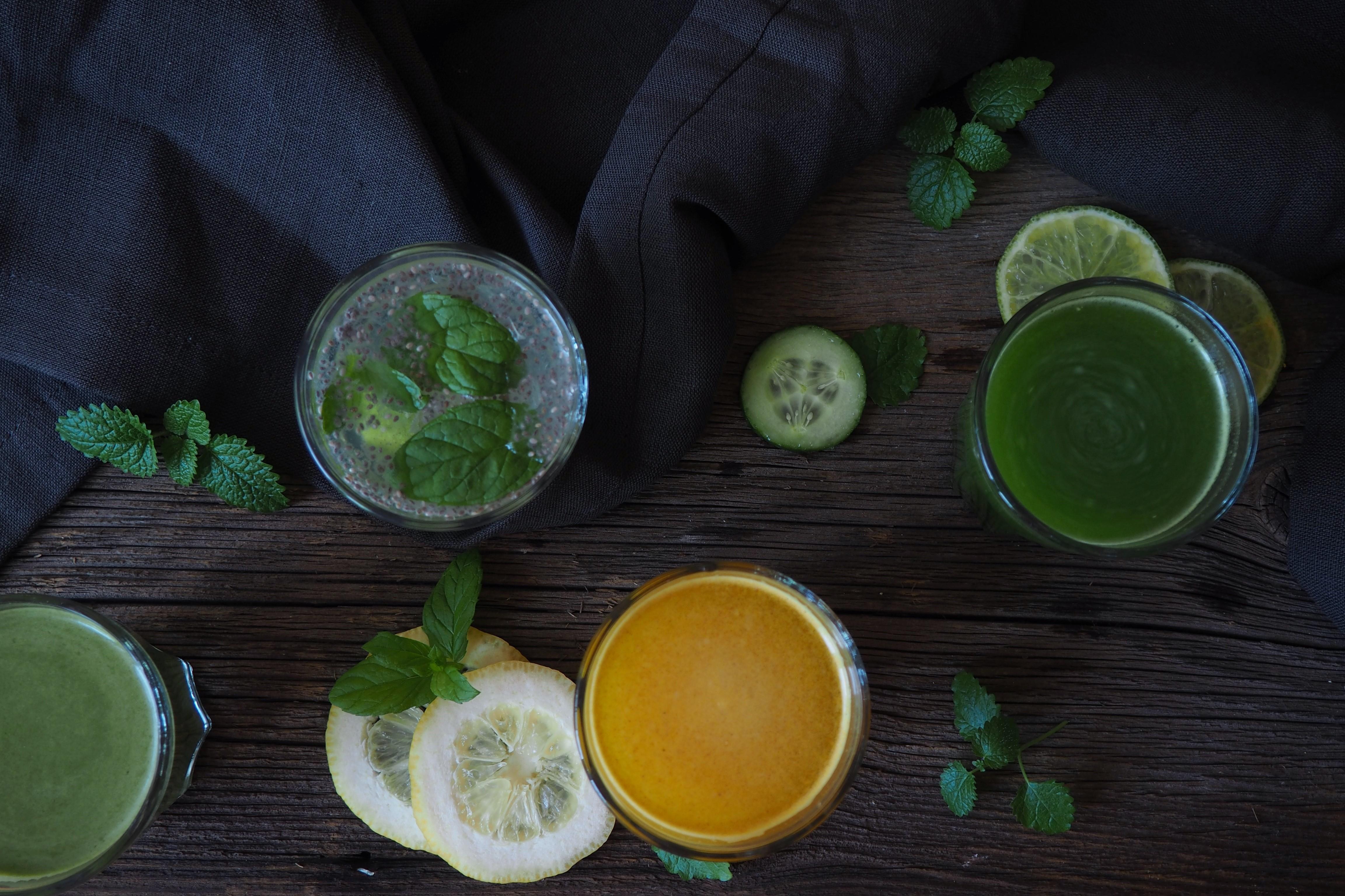Co pić na diecie – 4 napoje, które warto pić każdego dnia!