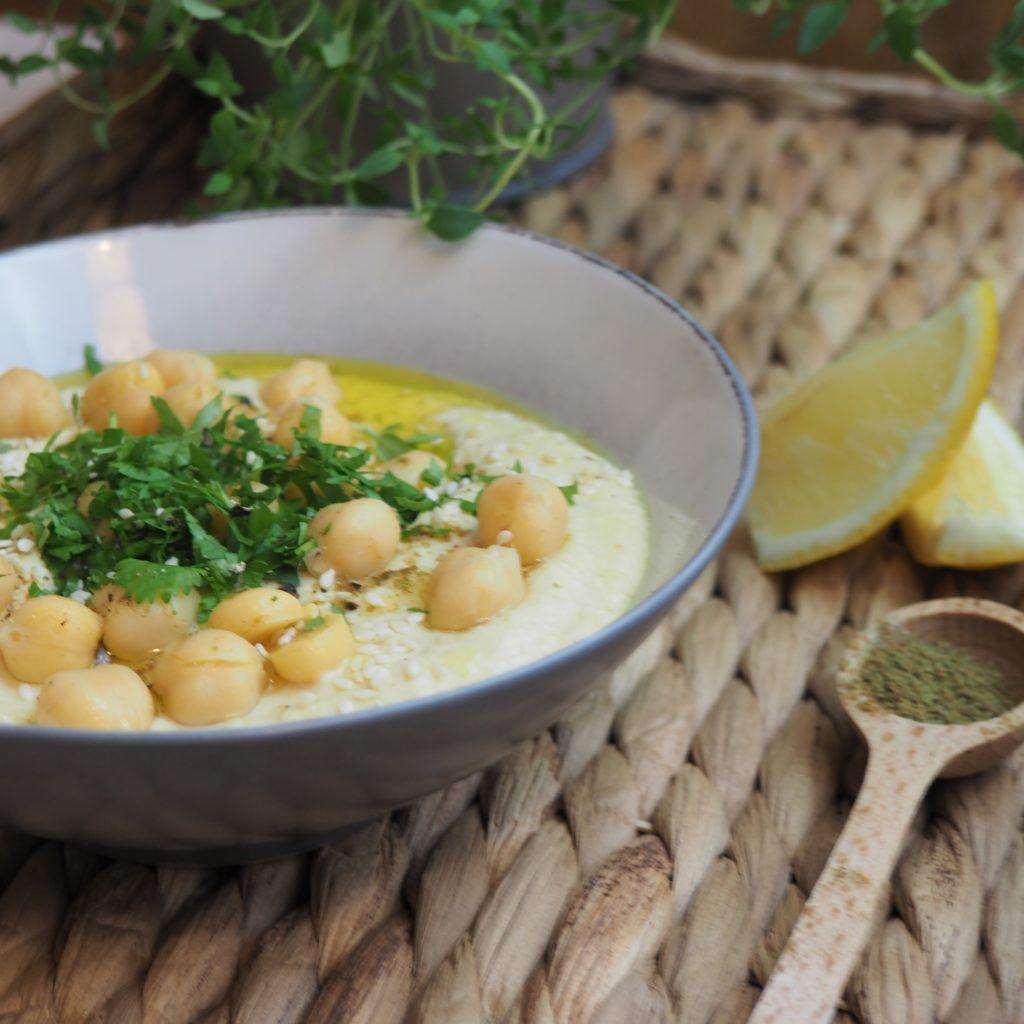 hummus klasyczny - przepis wg Okiem Dietetyka