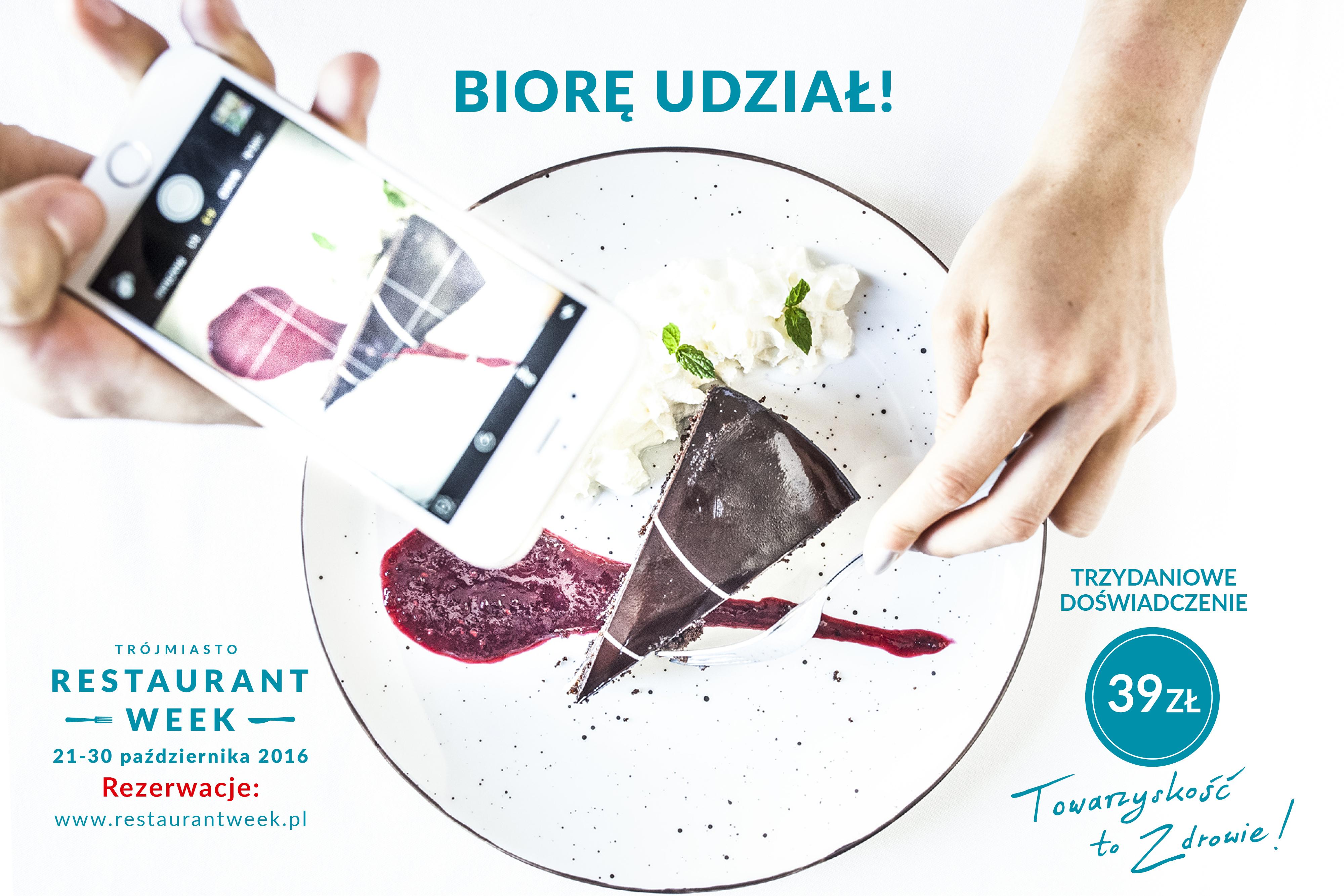 Restaurant Week 2016 – towarzyskość to zdrowie!