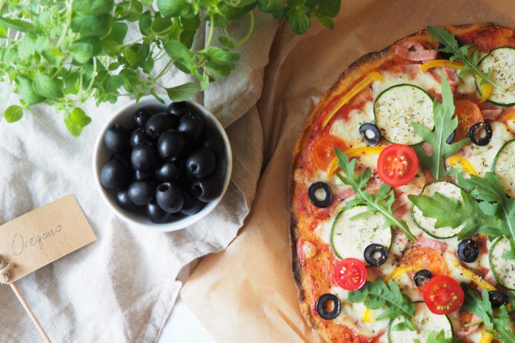 Dietetyczna pizza z batata