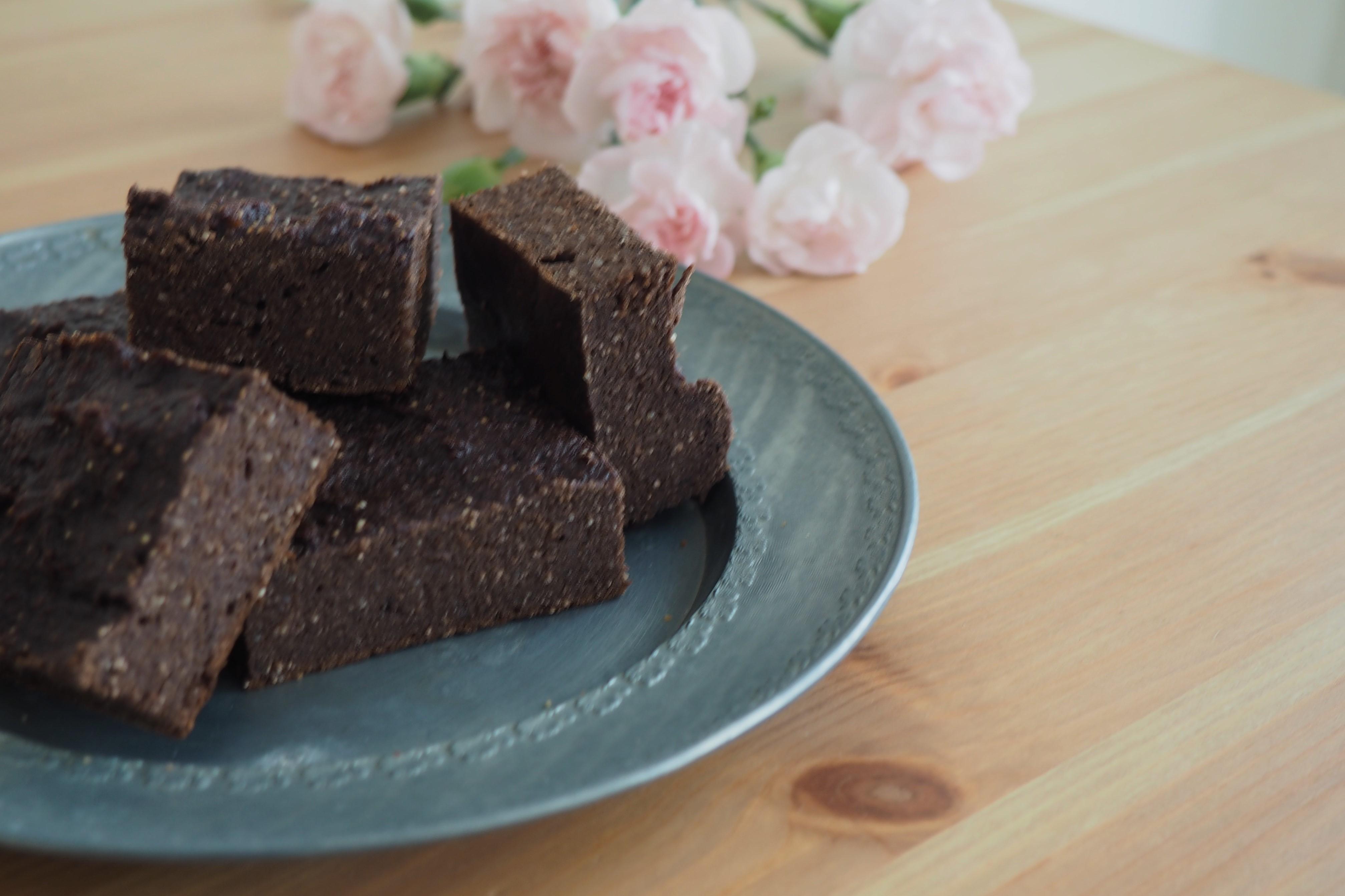 Brownie z batatów – bezglutenowe i wysokobiałkowe
