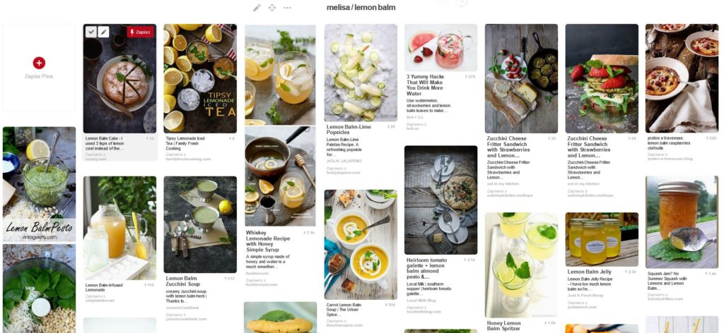 Melisa - zbiór inspiracji Pinterest
