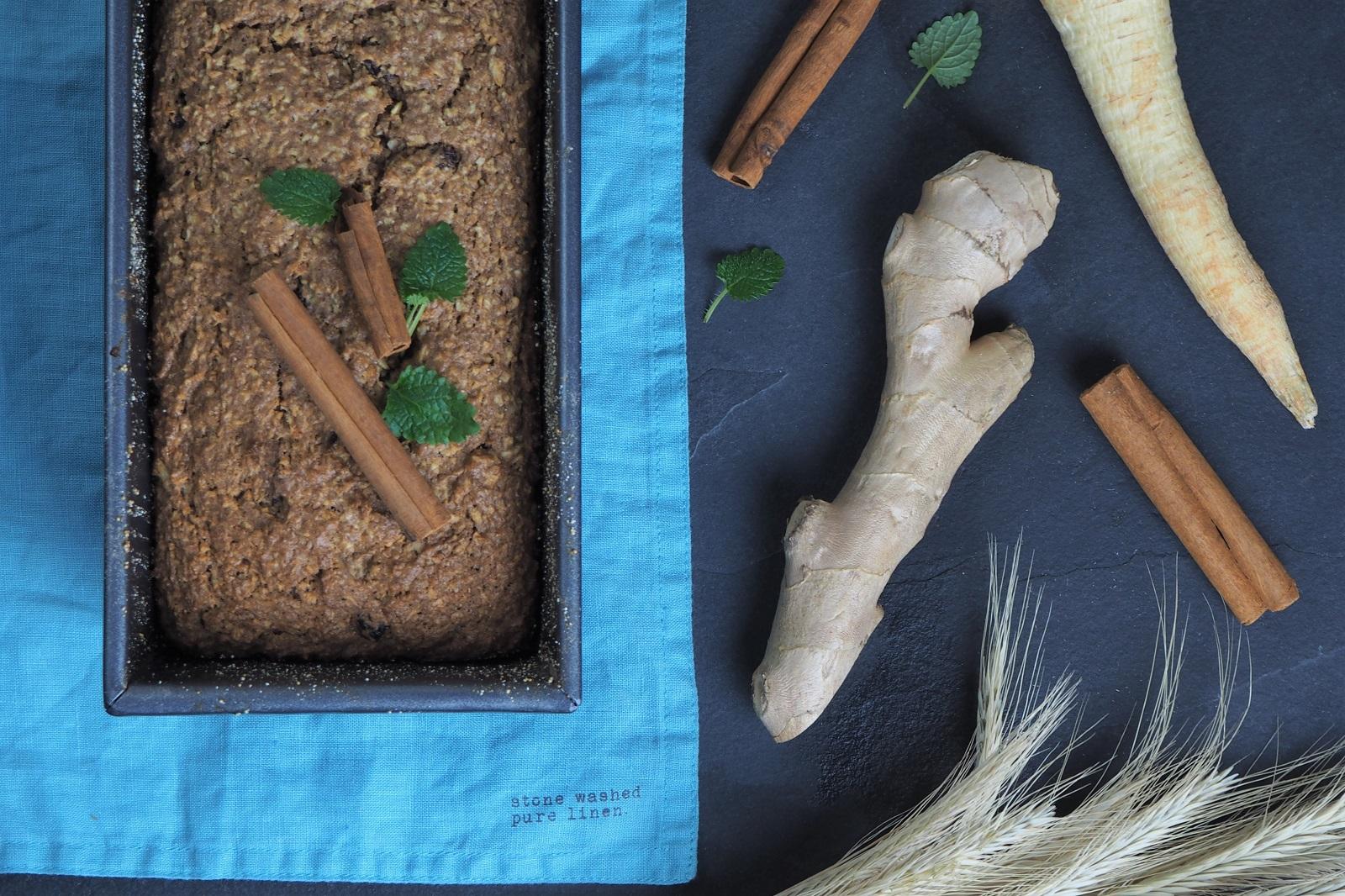 Ciasto pietruszkowe z cynamonem