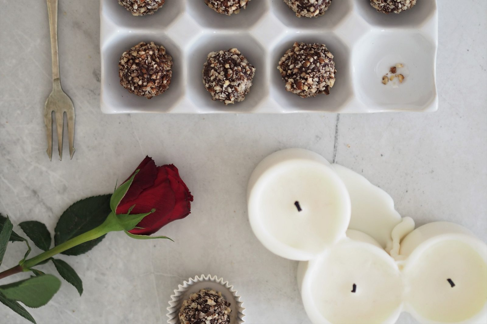 Dietetyczne Ferrero Rocher – wegańskie pralinki
