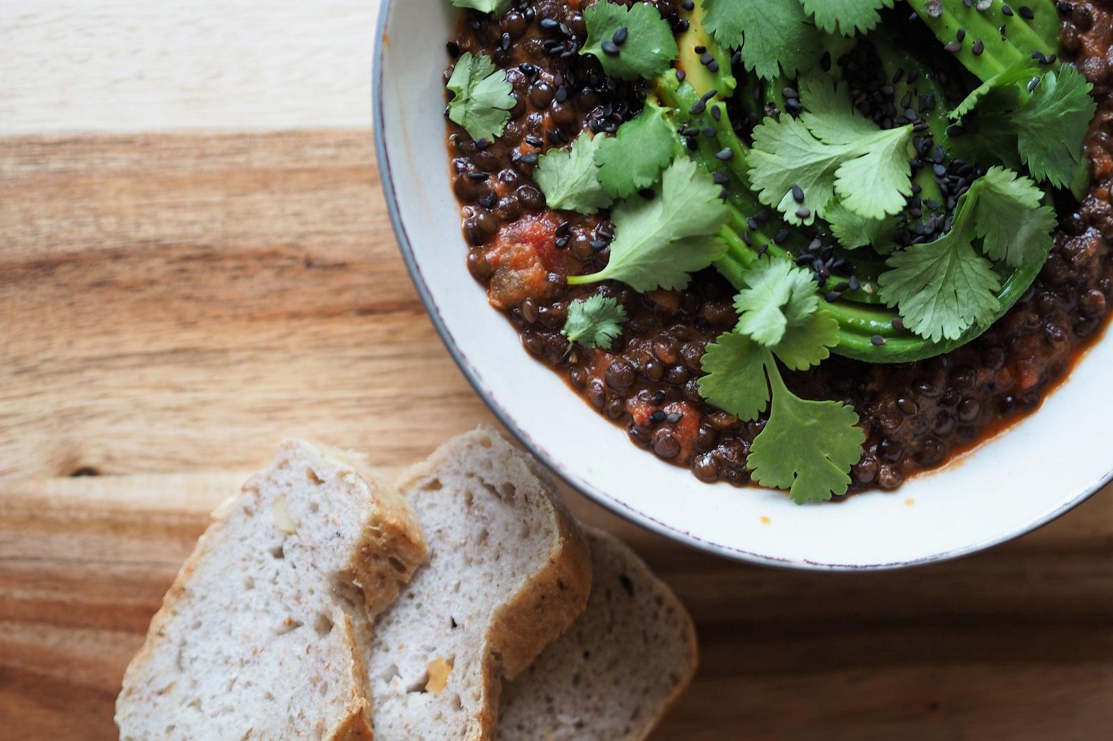 Dahl z soczewicy – wegańska kolacja