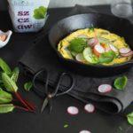 Perfekcyjny omlet w wersji wytrawnej