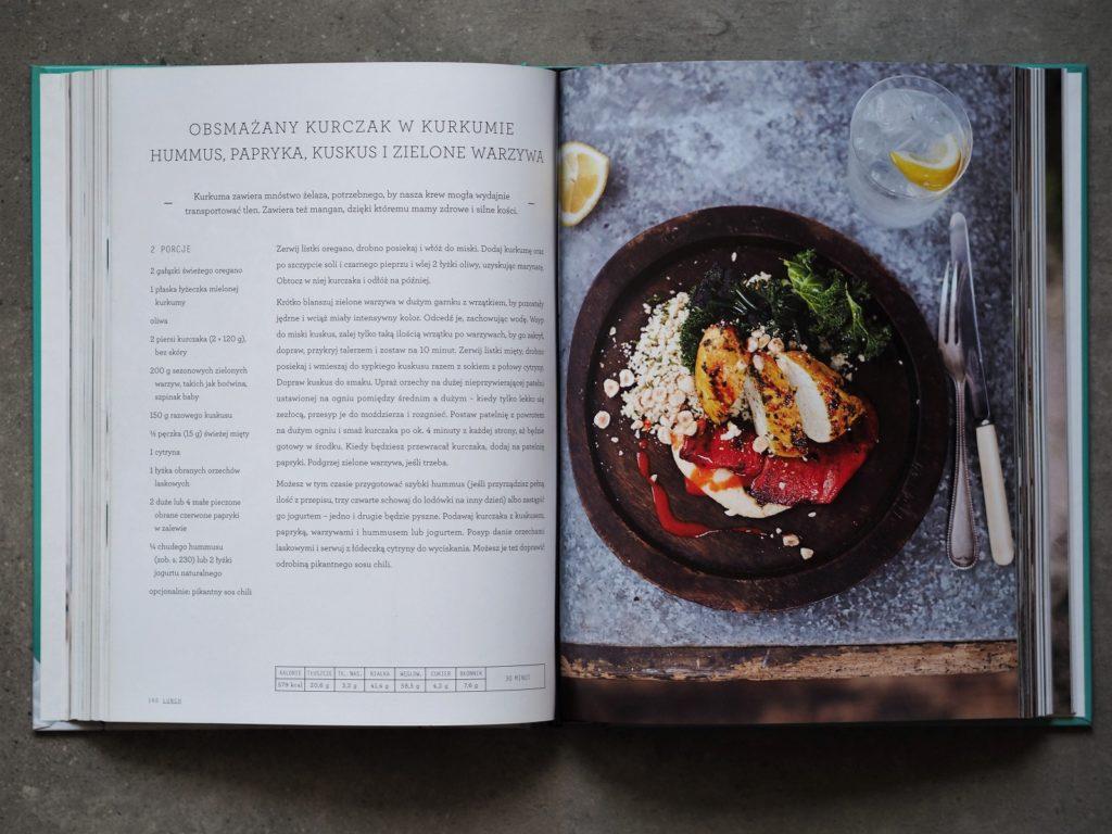 Przepis z książki Superfood na co dzień - Jamie Olivier