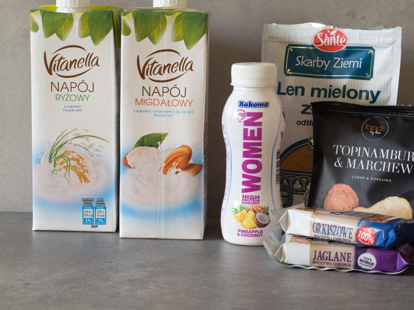 Zakupy Dietetyka #1 – hummus, pieczywo chrupkie i napoje roślinne