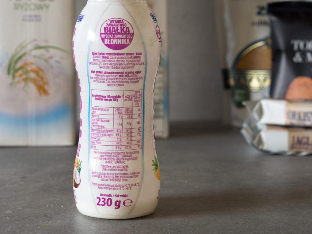 Zakupy dietetyka #1 Jogurt Pro Woman Bakoma