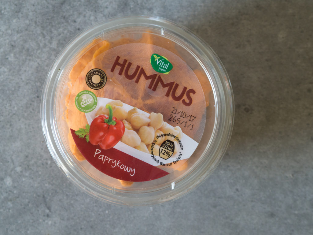 Hummus paprykowy Vital Fresh