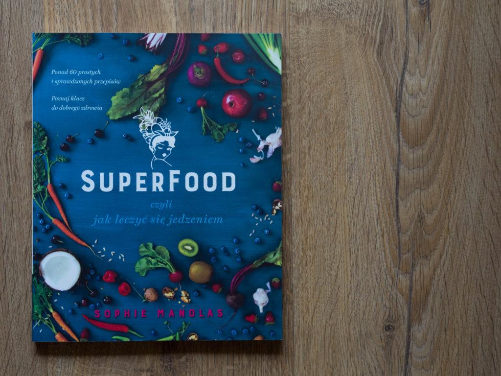 """Sophie Manolas autorka książki """"Superfood, czyli jak leczyć się jedzeniem"""""""