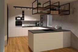 Kuchnia marzeń w naszym nowym mieszkaniu – część 2 (wizualizacje)