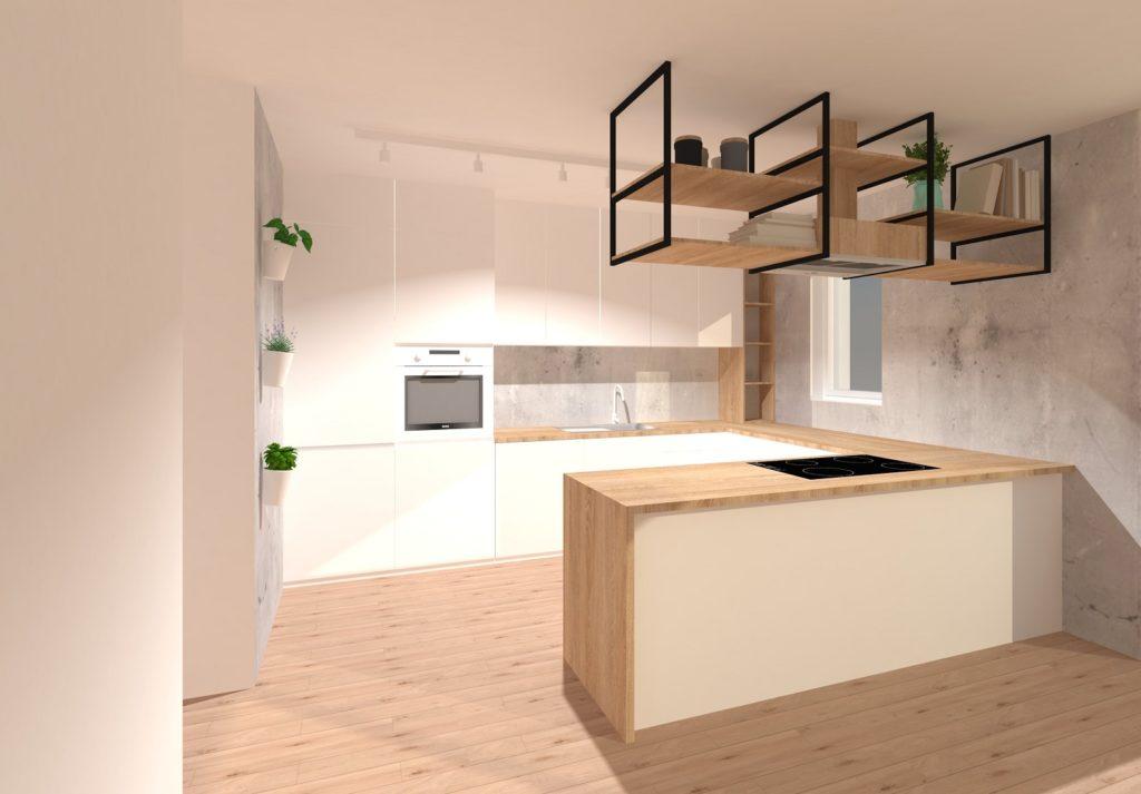 Kuchnia Marzeń W Nowym Mieszkaniu Część 2 Wizualizacje
