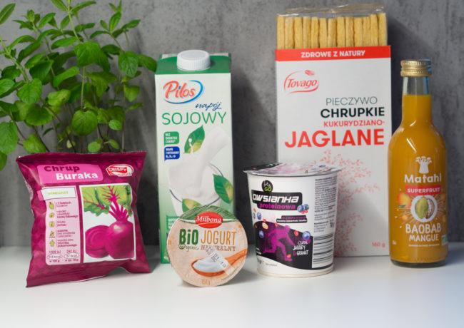 Zakupy Dietetyka #2 – owsianka, napój z baobabem, jogurt naturalny i…