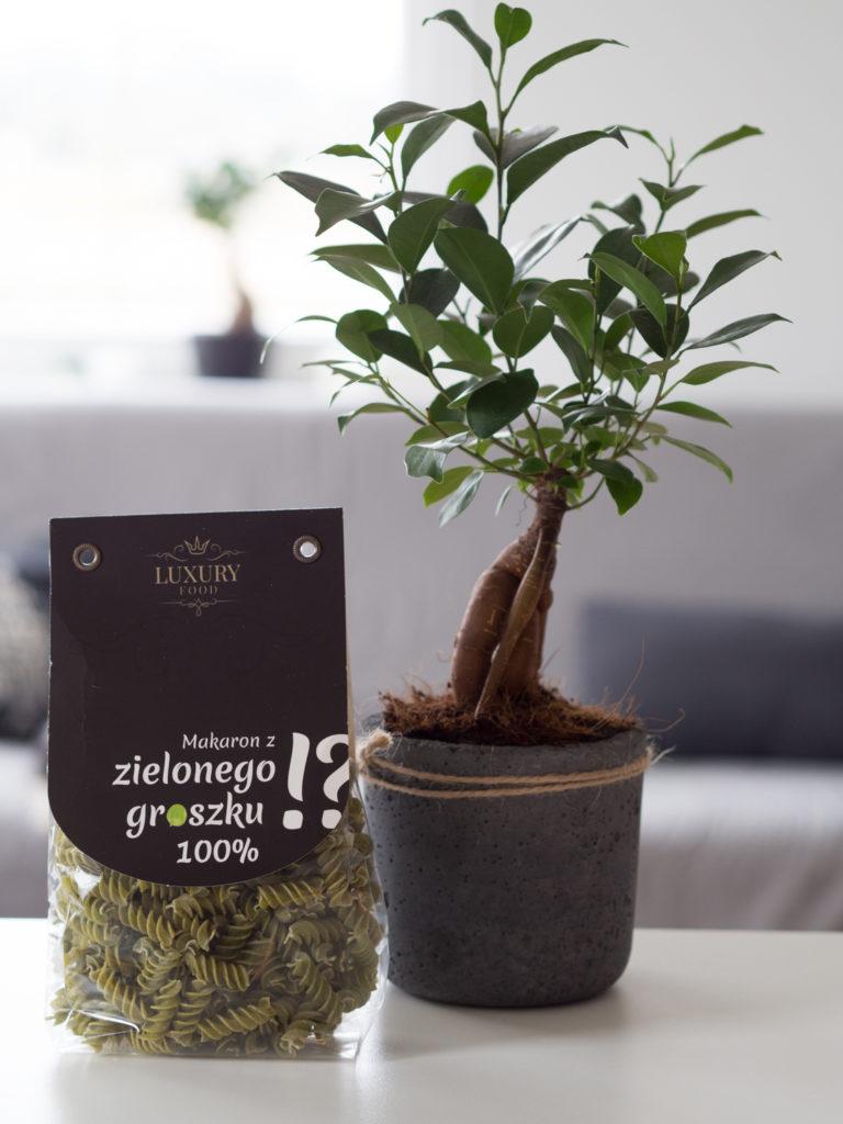 Zakupy Dietetyka: makaron z zielonego groszku (Luxury Food)