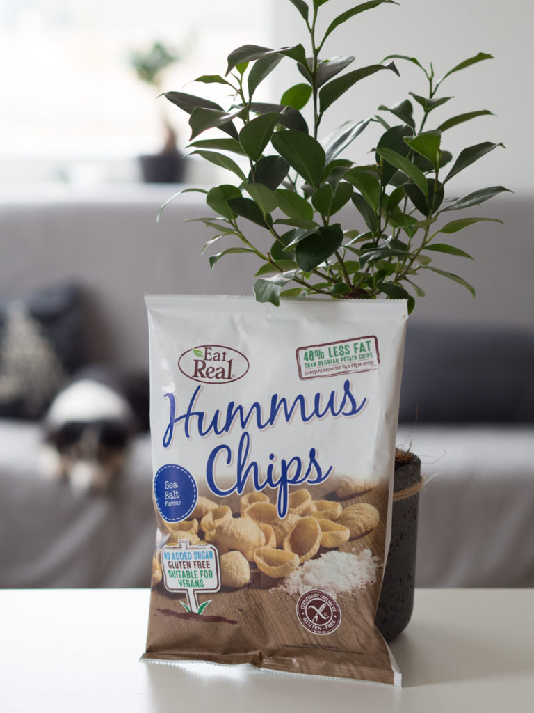 Hummus Chips z solą morską - Eat Real