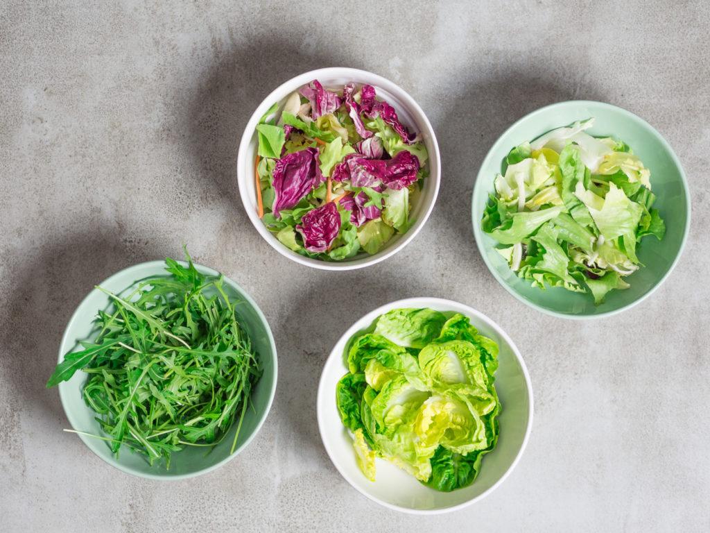 bazą Twojego lunchu powinna być zielenina