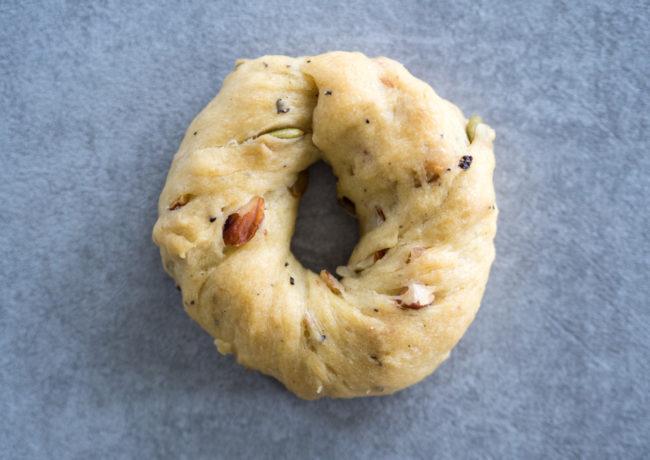 Neapolitańskie ciasteczka taralli z migdałami i oliwą