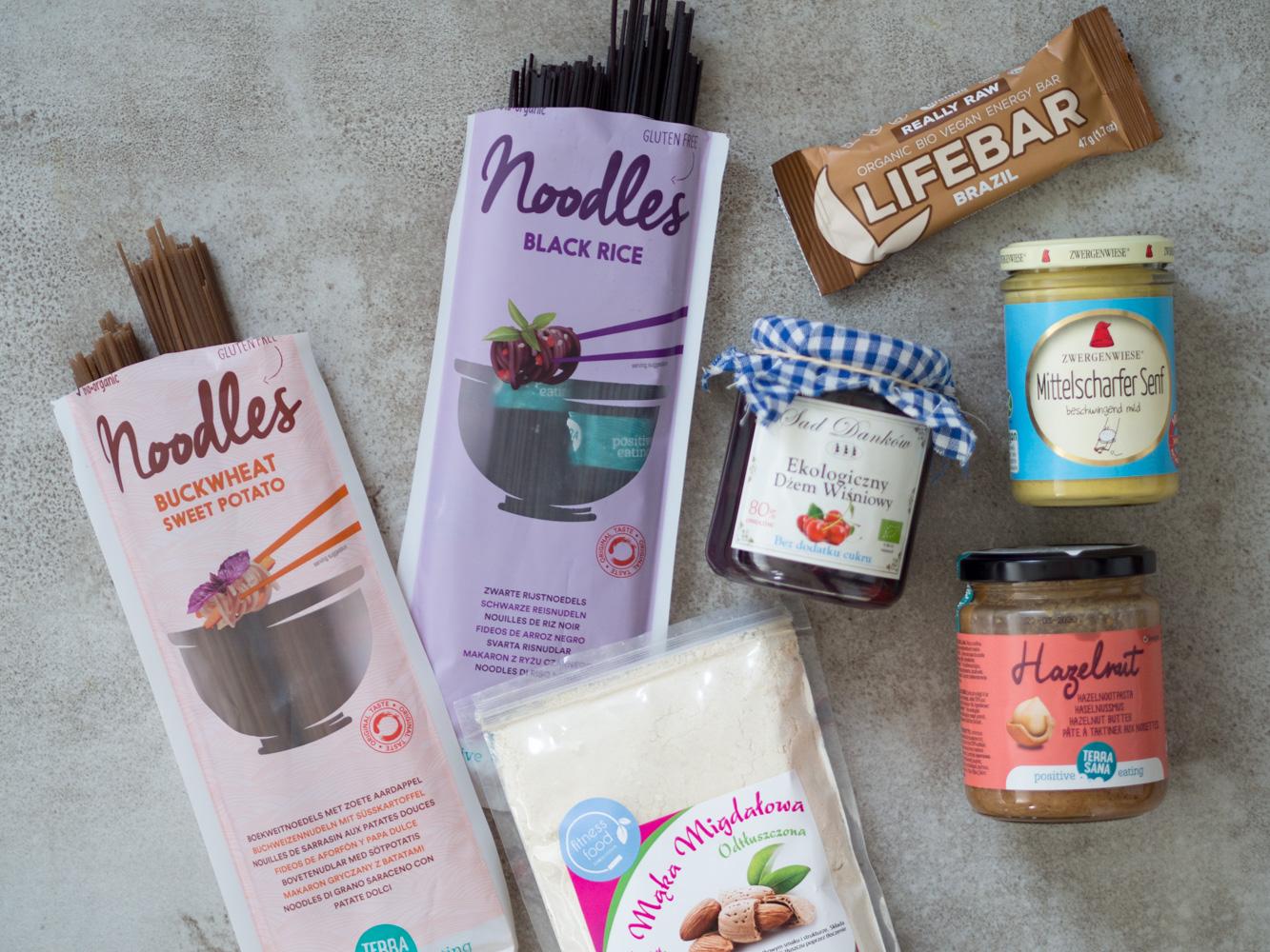 Zakupy Dietetyka #4 – mąka migdałowa, makarony bezglutenowe i inne