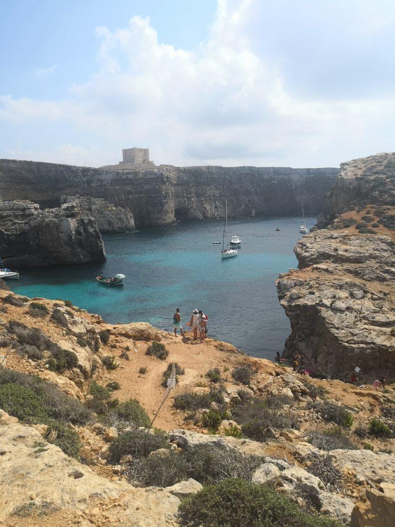 Malta i wyspa Comino