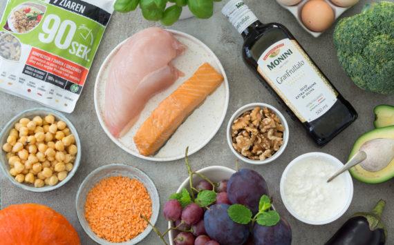 Dieta dla aktywnej kobiety – darmowy jadłospis 2400 kcal