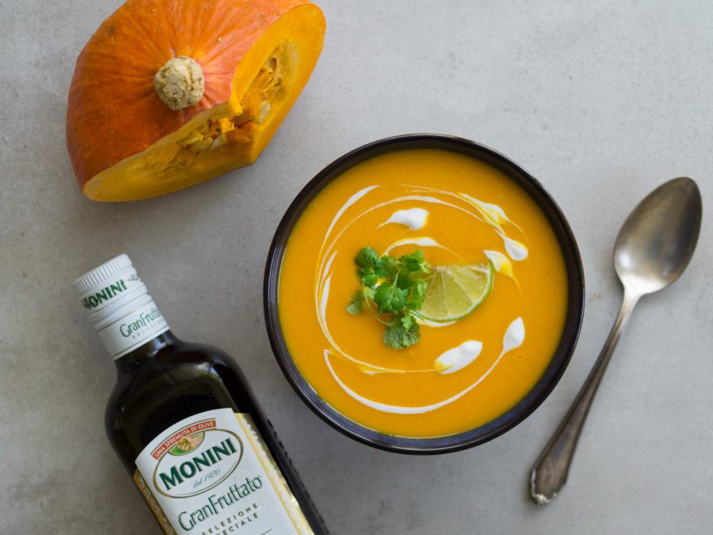 dieta wegańśka 1800 kcal zupa z dyni