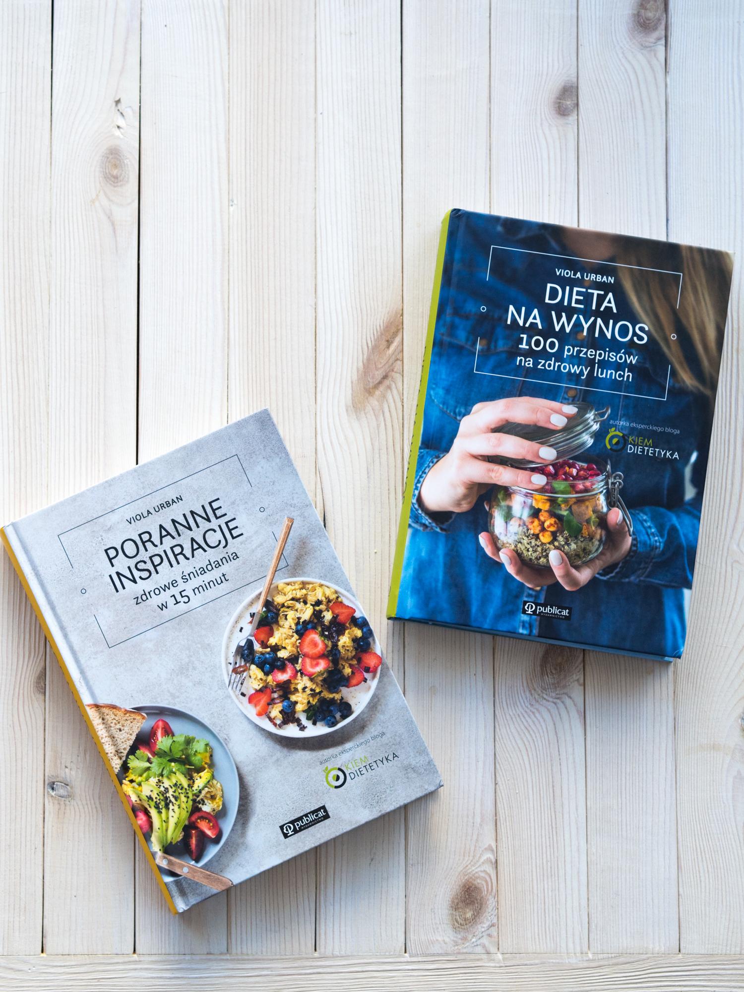 """Pakiet książek """"Poranne Inspiracje"""" i """"Dieta na wynos"""" + dedykacja"""