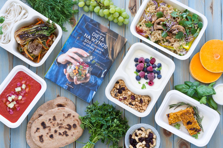 """Catering dietetyczny z przepisami z mojej książki """"Dieta na Wynos"""""""