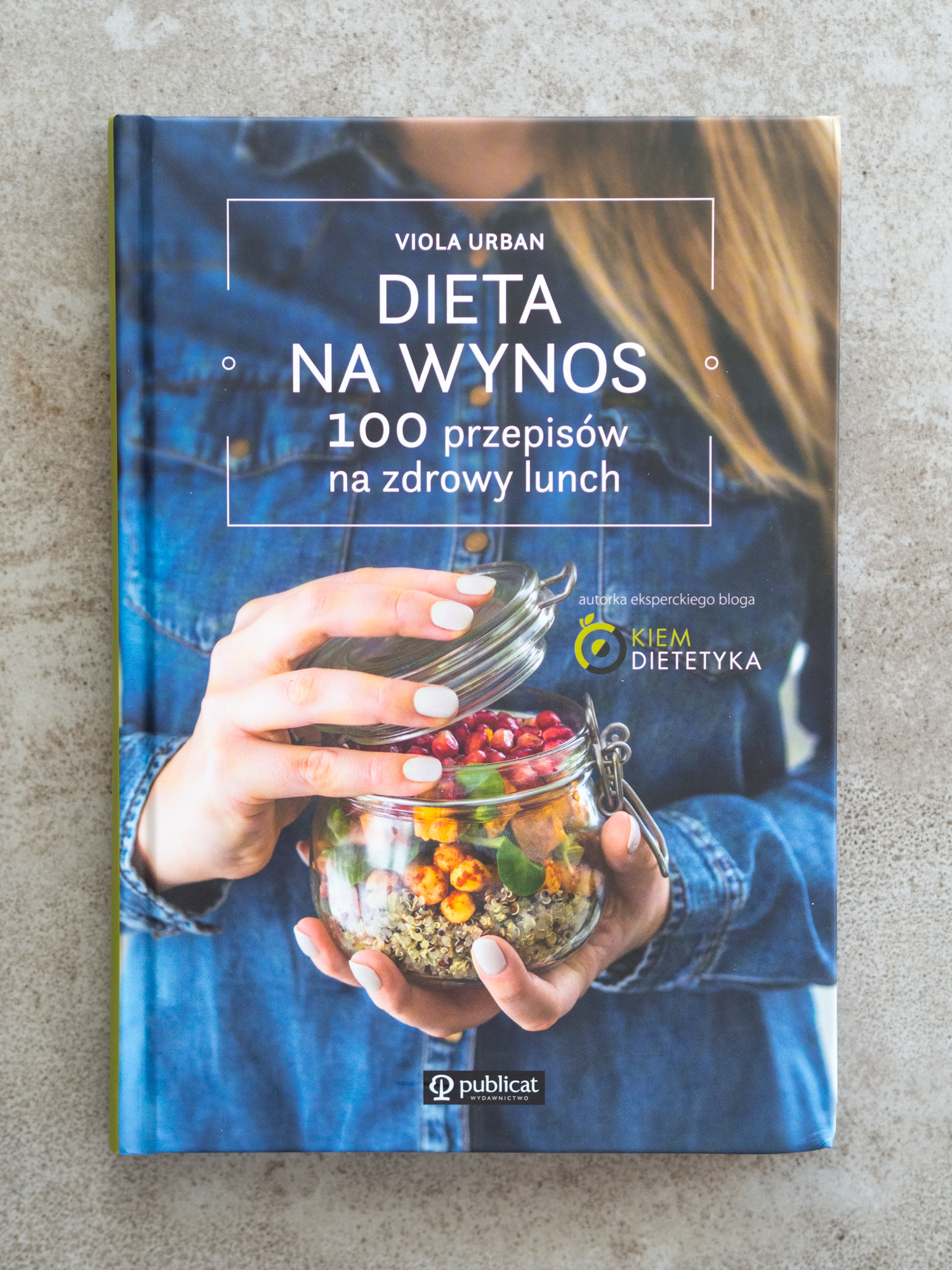 """Książka """"Dieta na Wynos"""" z dedykacją od autorki"""