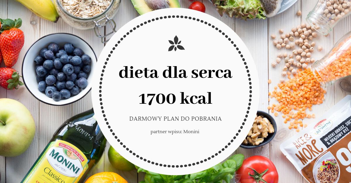 Dieta dla serca – teoria i darmowy jadłospis na 1700 kcal