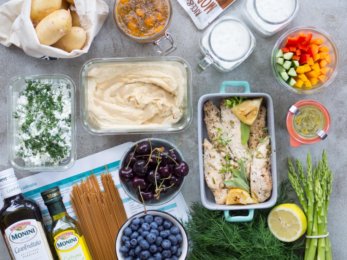 Sezonowa dieta śródziemnomorska 1600 kcal – wersja na lato