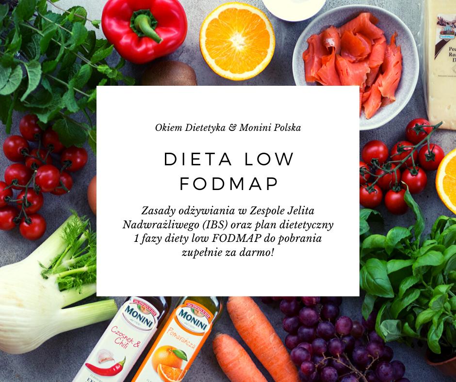 Dieta w zespole jelita nadwrażliwego (IBS) – low FODMAP 1800 kcal do pobrania za darmo