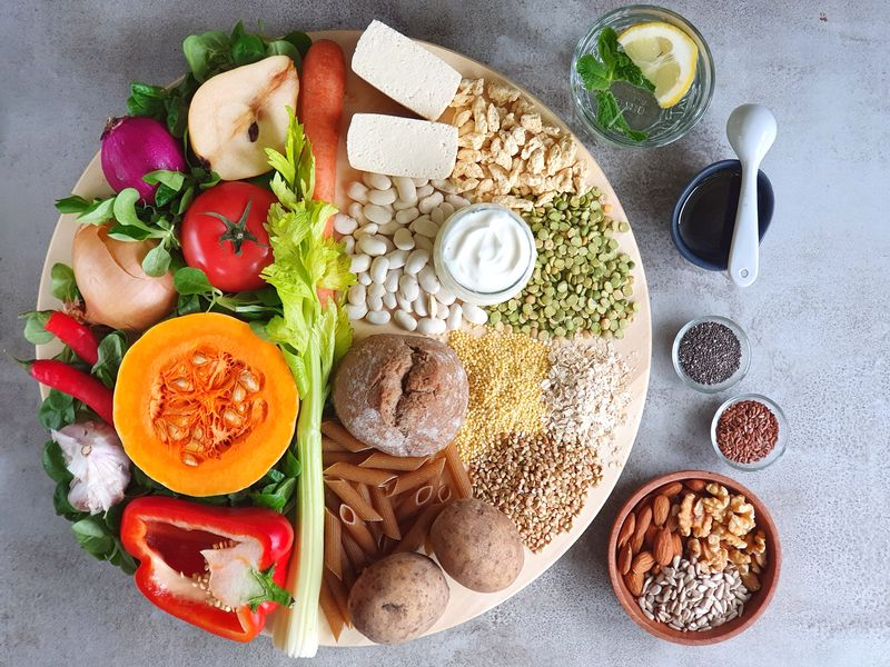 talerz zdrowia dieta na odporność